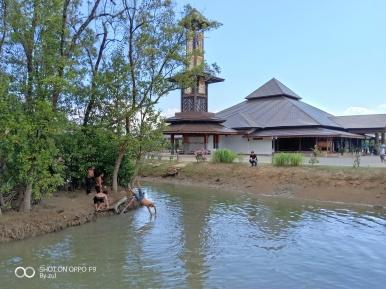 Masjid Ar Rahman Kg Pulau Gajah Kota Bharu Kelantan 9w2bpm